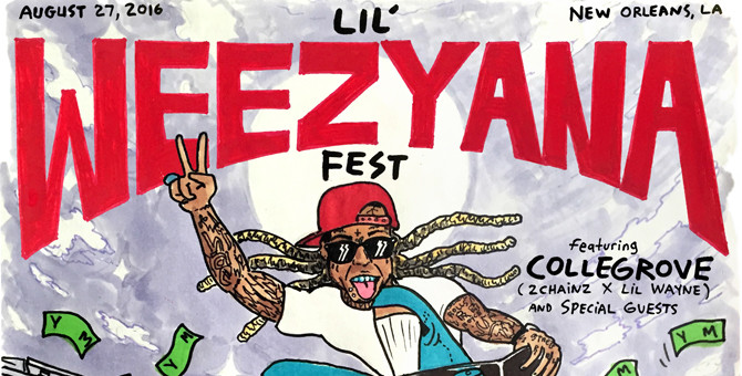 Watch Lil Wayne's Lil Weezyana Fest 2 featuring Migos, Yo Gotti and More